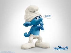 The Smurfs 2 Clumsy Smurf Wallpaper HD