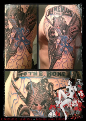 Back > Gallery For > Power Lineman Tattoos