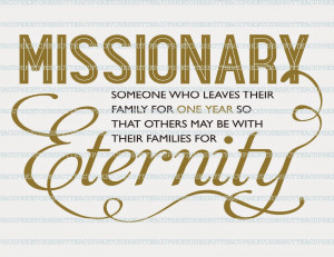 LDS Missionary Quotes and Birthday Cards