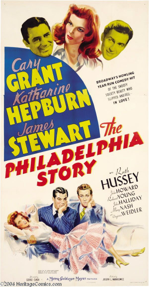 The Philadelphia Story (1940), directed by George Cukor