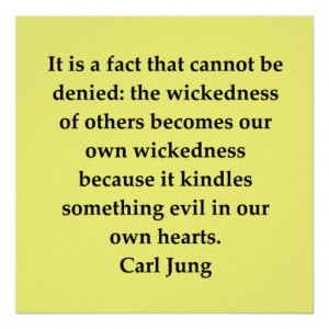 Carl Jung Quote #18 Print