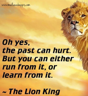 oh-yes-the-past-can-hurt-but-you-can-either-run-from-it-or-learn-from ...
