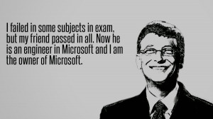 failed in Some subjects in exam,