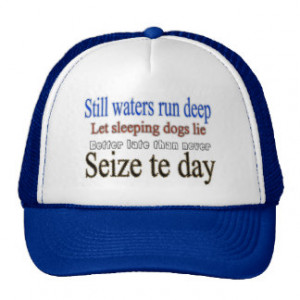 Famous Quotes Sayings Trucker Hats