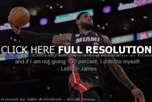 Lebron James Inspirational Basketball Quotes Inspirational basketball