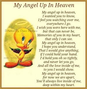My Angel Up In Heaven