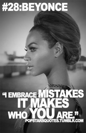 beyonce quotes about life