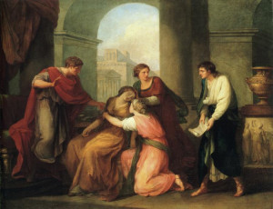 Virgil Reading the Aeneid to Augustus and Octavia