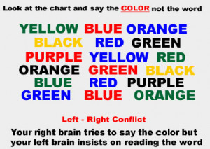 Color trick mind trick that is sure leave you guessing how come it's ...