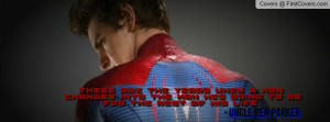 The Amazing Spider-Man Quotes 1 - KD Profile Facebook Covers