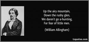 More William Allingham Quotes