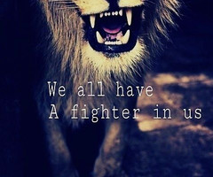 Tagged with fighter love tiger quotes