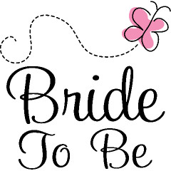 Bride To Be Pink Butterfly