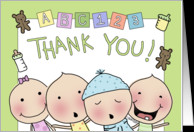 Thank You Cards for Babysitter