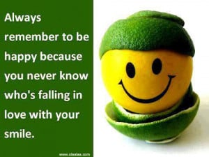 Nice Happy Quotes-Always remember to be happy