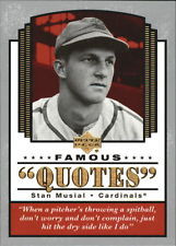 2004 Upper Deck Famous Quotes #14 Stan Musial