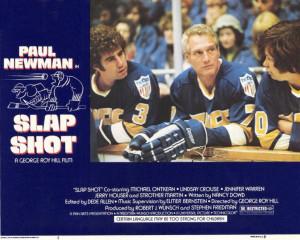 Slap Shot Poster