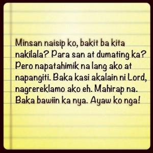 filipino #quote #filipinoquotes #tagalog #bored
