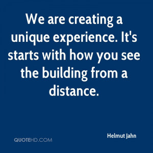 Helmut Jahn Experience Quotes
