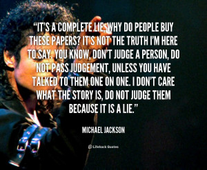 Michael Jackson Famous Quotes