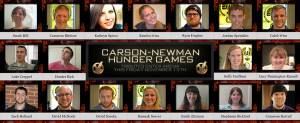 Carson-Newman Hunger Games: Catching Fire Edition - Carson-