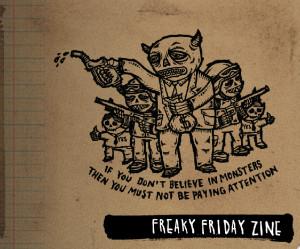 Terrible One's Freaky Friday Online Zine