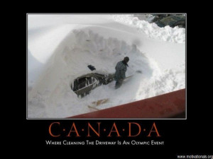 Funny Canadian Winter