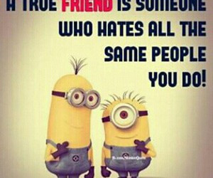 tagged with hate minions