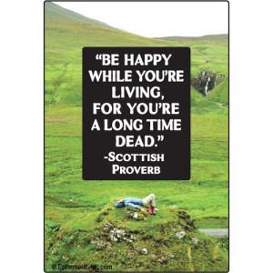 Scottish Quotes Proverbs
