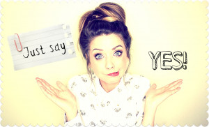 Just say yes, just say there's nothing holding you back