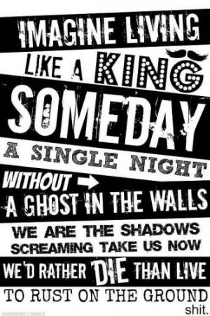 ... lyrics #music #kellinquinn #vicfuentes #emo #scream #screamo #
