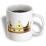 3dRose - Funny Quotes And Sayings - King crown - 15 oz mug
