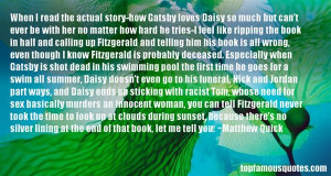 Top Quotes About Gatsby Loves Daisy