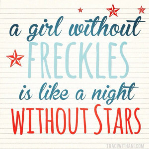 ... ….cute quote! Funny / humor / women / girls / red hair / freckles