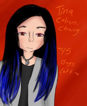 Glee - Tina Cohen-Chang by iTiffanyBlue