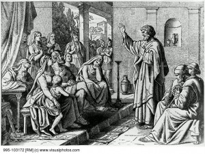 The Life of the Apostle Peter: Peter at the House of Cornelius Artist ...