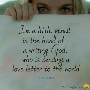 Mother Teresa Quote – 5 Ways to let God Use your Life to Reach More ...