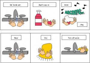 Printable Hand Washing Preschool