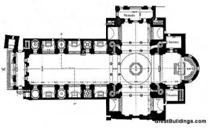 Leon Battista Alberti #plan #Architecture #drawing