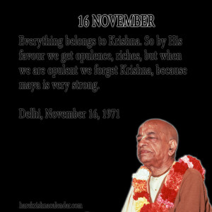 November Quotes Month ~ Srila Prabhupada's Quotes In November   Hare ...