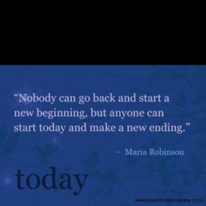 Gotta love new beginnings....