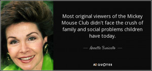 Most original viewers of the Mickey Mouse Club didn't face the crush ...