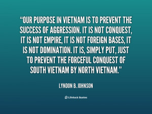 The largest collection of Lyndon Johnson Vietnam Quotes 22