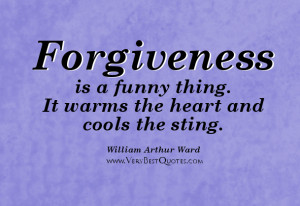 Funny Quotes About Forgiveness