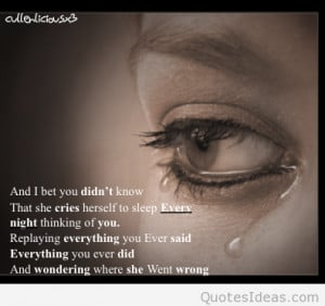 Sad quotes on wallpapers and images