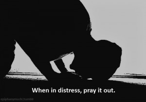 When in distress