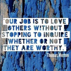Thomas Merton #Love