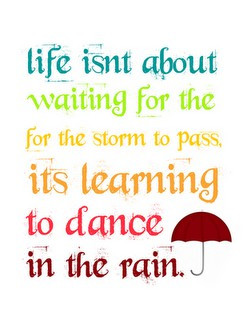 Words to Live By: When Facing a Storm