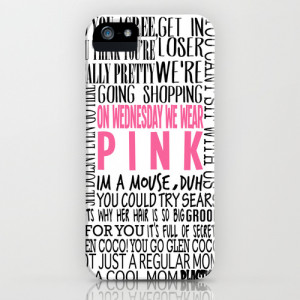 Mean Girls Quotes iPhone & iPod Case