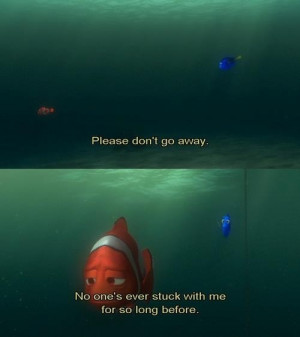 Finding Nemo movie quote :)